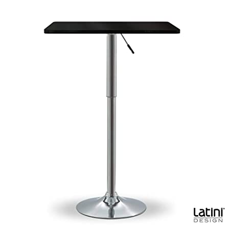 Latini Design - Mesa de Bar Alta Cuadrada Daisy - Muebles Bar ...