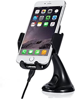 Android Wireless Car Charger with Charging Pad