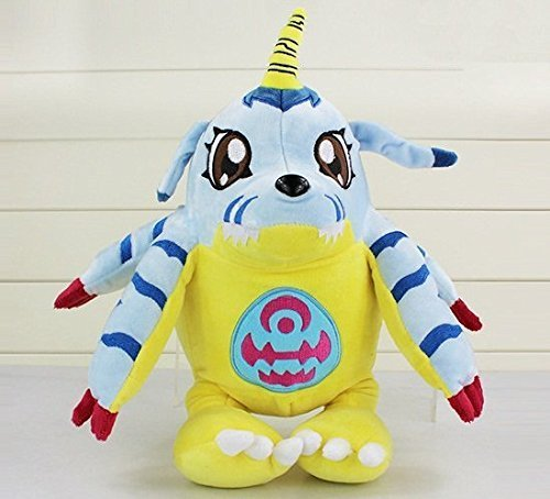 Digimon Plush 13.8 Inch / 35cm Gabumon Doll Stuffed Animals Figure Soft Anime Collection Toy]()