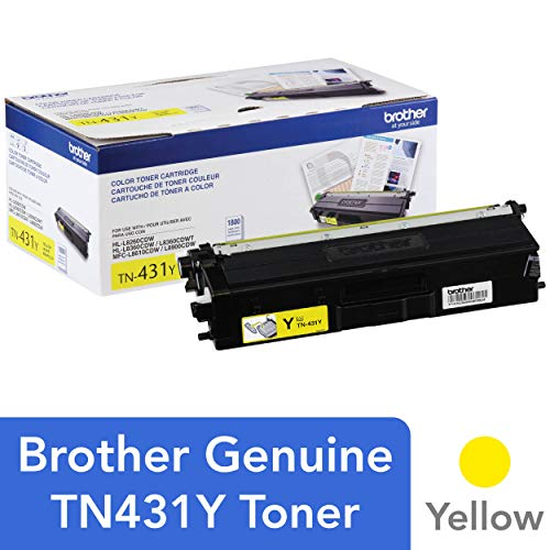 Brother TN431Y Standard Toner Retail Packaging