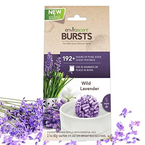 Enviroscent Bursts Aroma Diffusers, Wild Lavender Fragrance, Bag of 3
