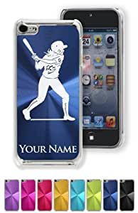 Case/Cover for iPhone 5C - WOMAN SOFTBALL PLAYER - Personalized for FREE (Click the CONTACT SELLER link after purchase and send a message with your case color and engraving request)