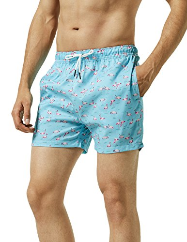 8b5648ec87960 MaaMgic Mens Slim Fit Quick Dry Swim Shorts Swim Trunks Mens Bathing ...