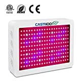 500W LED Grow Light, Full Spectrum Plant Grow Lights with UV&IR for Greenhouse Hydroponic Indoor Plants Veg and Flower All Phases of Plant Growth (5W Leds Triple Chips)