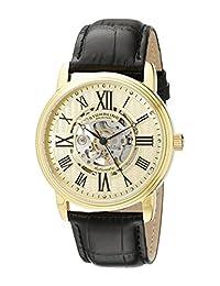 Stuhrling Original Men's Venezia Automatic Skeleton Watch Gold 1077.333531