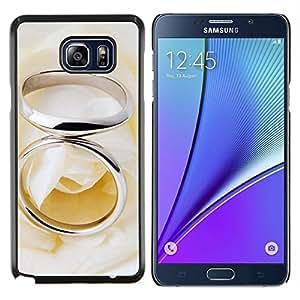 "For Samsung Galaxy Note5 / N920 , S-type Anillo Pareja"" - Arte & diseño plástico duro Fundas Cover Cubre Hard Case Cover"