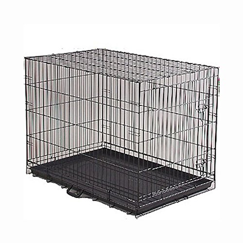 Prevue Hendryx Economy Large Folding Suitcase Style Dog Crate - Pet Cage Kennel