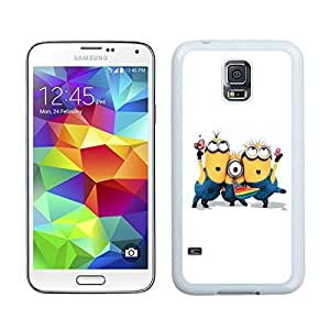 Samsung Galaxy S5 Case,2015 Hot New Fashion Stylish Funny Despicable Me White Case Cover for Samsung Galaxy S5 i9600