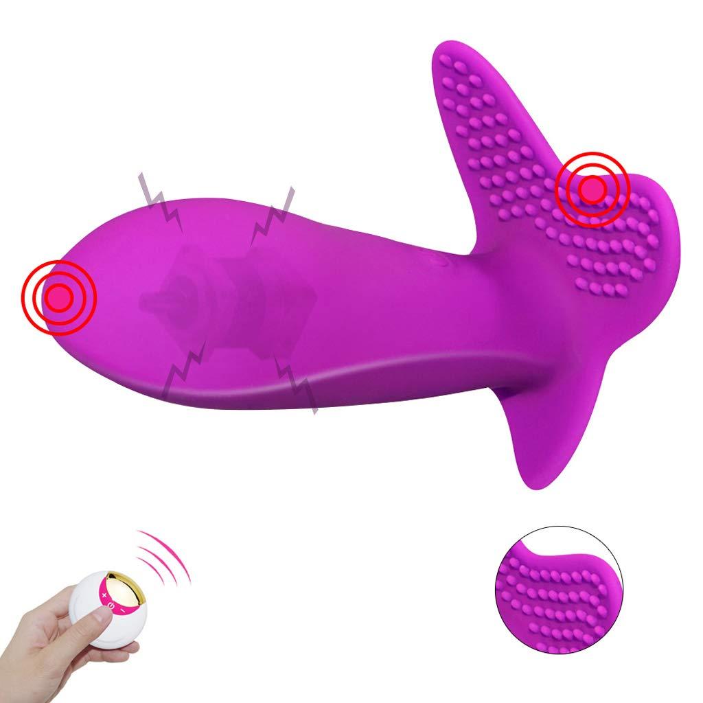 Vibrador femenino de silicona salta el huevo vibración multifrecuencia invisible usable usable invisible masaje estimulación punto G salto inalámbrico huevo adulto hembra juguetes 28f43a