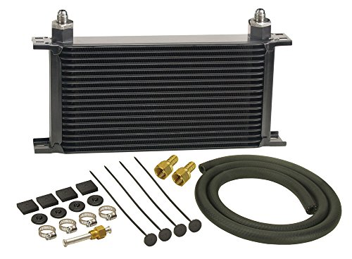 - Derale 13403 Series 10000 Stacked Plate Transmission Oil Cooler 19 Row