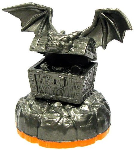 Skylanders LOOSE Figure Platinum Treasure [Includes Card & Online Code]