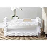 Safavieh Home Collection Garson White Accent Table
