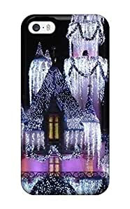 New Shockproof Protection Case Cover For Iphone 5/5s/ Disneyland Christmas Castle S Case Cover