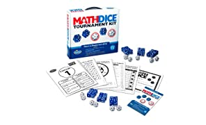 ThinkFun Math Dice Tournament Kit