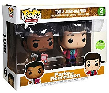 Funko Pop! Television: Parks And Recreations Tom & Jean-Ralphio Vinyl Figure Set 2018 ECCC Spring Convention Exclusive
