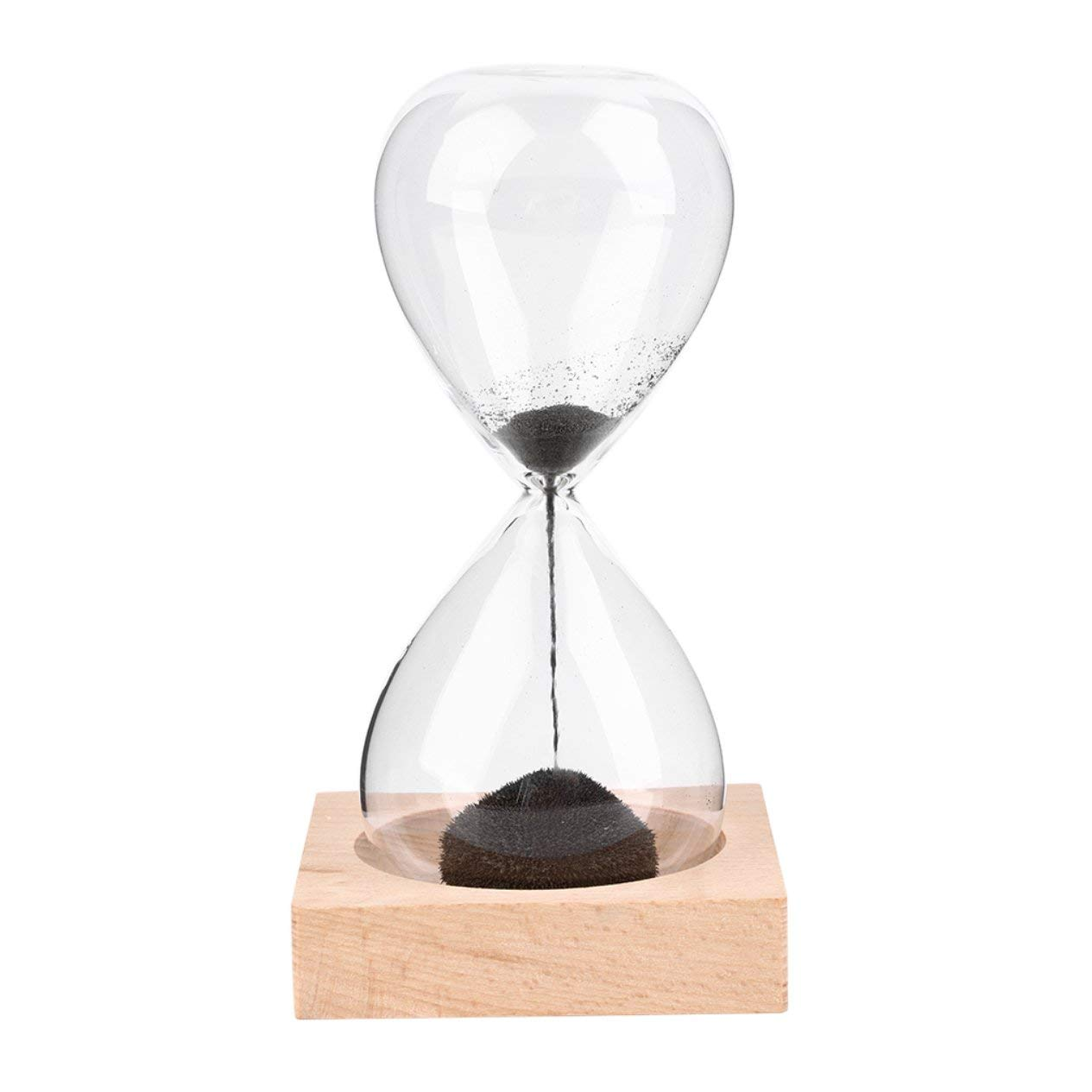 Hand-Blown Timer Clock Magnet Magnetic Crafts Sand Clock Hourglass Timer Christmas Home Decoration Best Gift