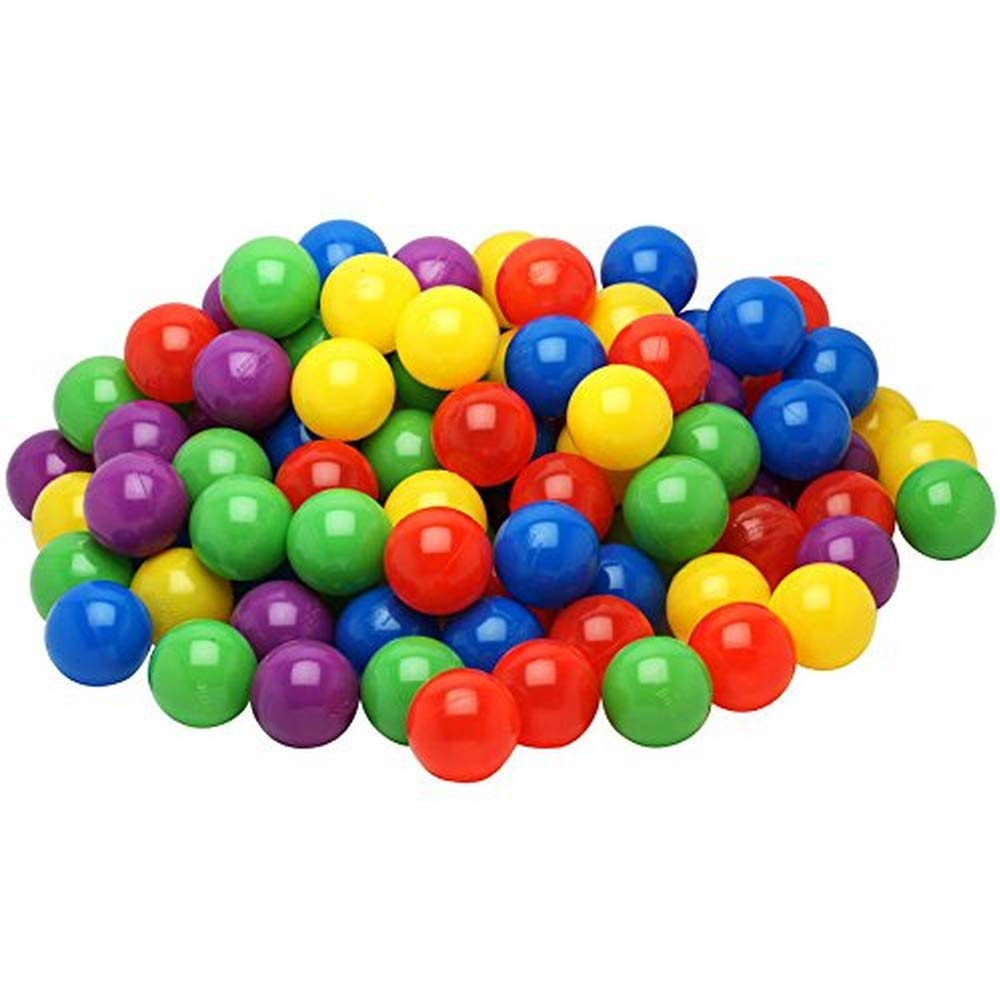 Pack of 200 Blue Color Large 2.5 65mm Ball Pit Balls Crush-Proof Air-Filled Phthalate//BPA Free Non-Toxic Non-Recycled Plastic