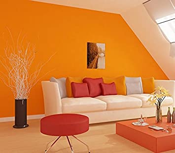 Kuamai Reine Farbe Umweltschutz Vliestapeten Tv Hintergrund Wand ...