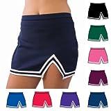 Kyпить Pizzazz Maroon A Line Cheer Uniform Skirt Girls 10-12 на Amazon.com