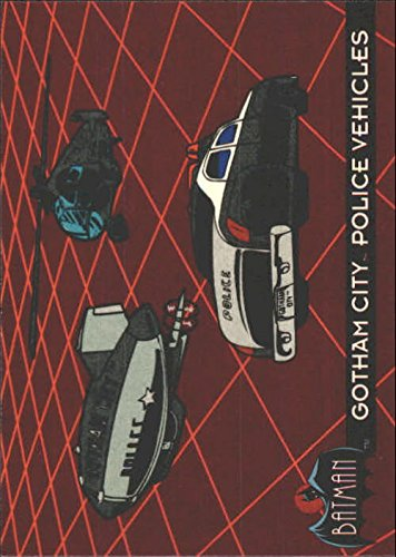 1993 Batman Animated Series One #45 Gotham City Police Vehicles - NM-MT
