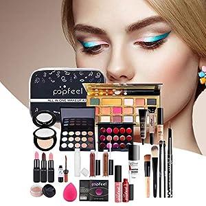 Set De Maquillaje Para Mujer, Kit Completo, Herramienta De Maquillaje Facial Resistente Al Agua, Estuche De Maquillaje…   DeHippies.com