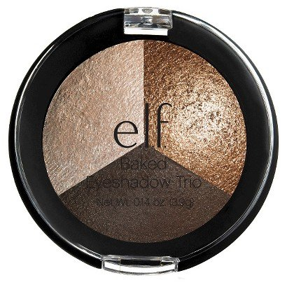 e.l.f. Baked Long-lasting and Shimmering Color Eyeshadow Trio (e.l.f. Baked Eyeshadow Trio - Brown Bonanza)