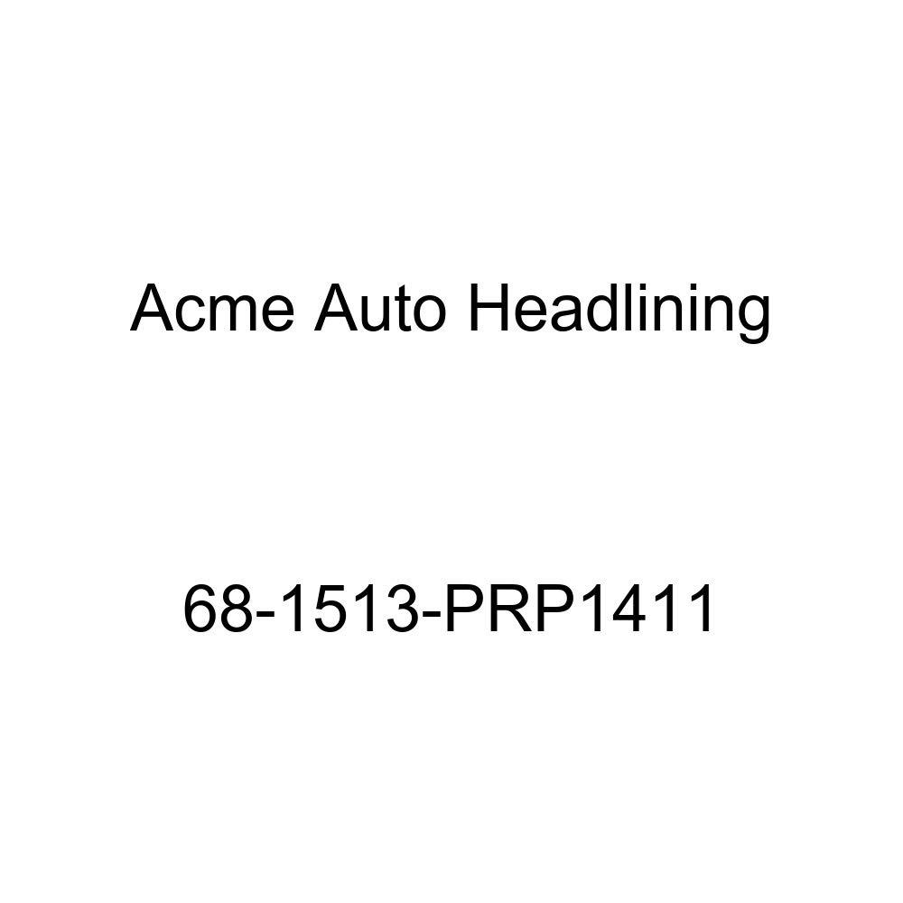 Acme Auto Headlining 68-1513-PRP1411 Maroon Replacement Headliner Pontiac Firebird 2 Door Hardtop 5 Bow