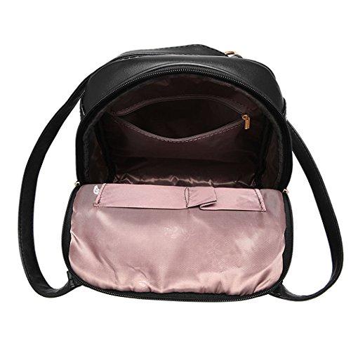 Pelle Donne Rosa In Delle Laptop Mano Rosso Blu Scuro Di Sacchetti Zaino Portafogli Scuola Spalla Bag 7F4qTwB
