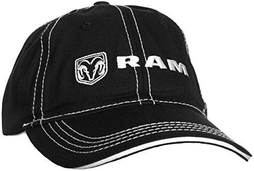 Dodge RAM Logos Black Ball Cap - Buy Online in Oman.  9d69793a594