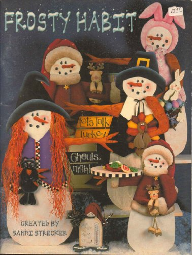 Frosty Habit - Tole Painting Snowman Holiday Book