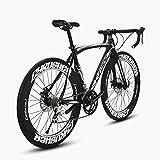 Image of Cyrusher Mens Road Bike Aluminium Frame 54 cm 56cm 700C 70MM Shimano 2400 16 Speeds Road Bicycle Mechanical Disc Brakes