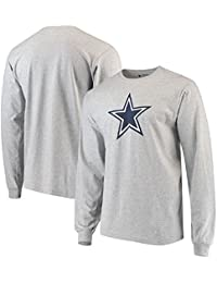 Dallas Cowboys Gray Logo Premier Long Sleeve T-Shirt