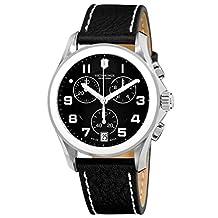Victorinox Swiss Army Women's Chrono Classic XLS 241501 Black Calf Skin Swiss Quartz Watch