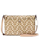 COACH PEYTON DREAM C SIGNATURE EAST WEST SWINGPACK 51364 Beige