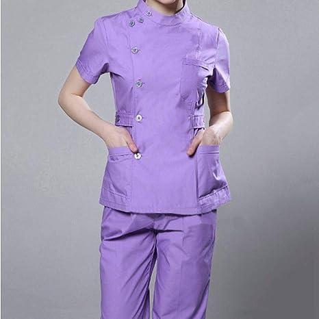 QZHE Ropa médica Enfermera Ropa Médica Hospital Ropa ...