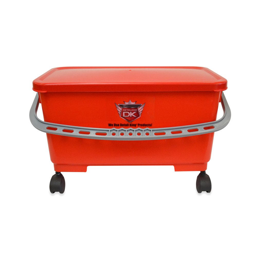 Detail King Bucket - 6 Gallon Extra Wide w/ casters