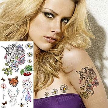 4 Unidades, Tatuajes Temporales De Moda Bajo El Brazo Sexy Mandala ...