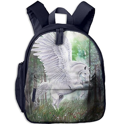 HUEH Outdoor Myth Horse Kids Snack Backpack School Book Bags Gift For Toodle Teen Boys Girls