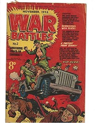 War Battles #2 1952 Australian Classic Jeep Cover