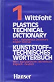 img - for Plastics Technical Dictionary: Alphabetical Dictionary, English-German Part 1 (German Edition) book / textbook / text book