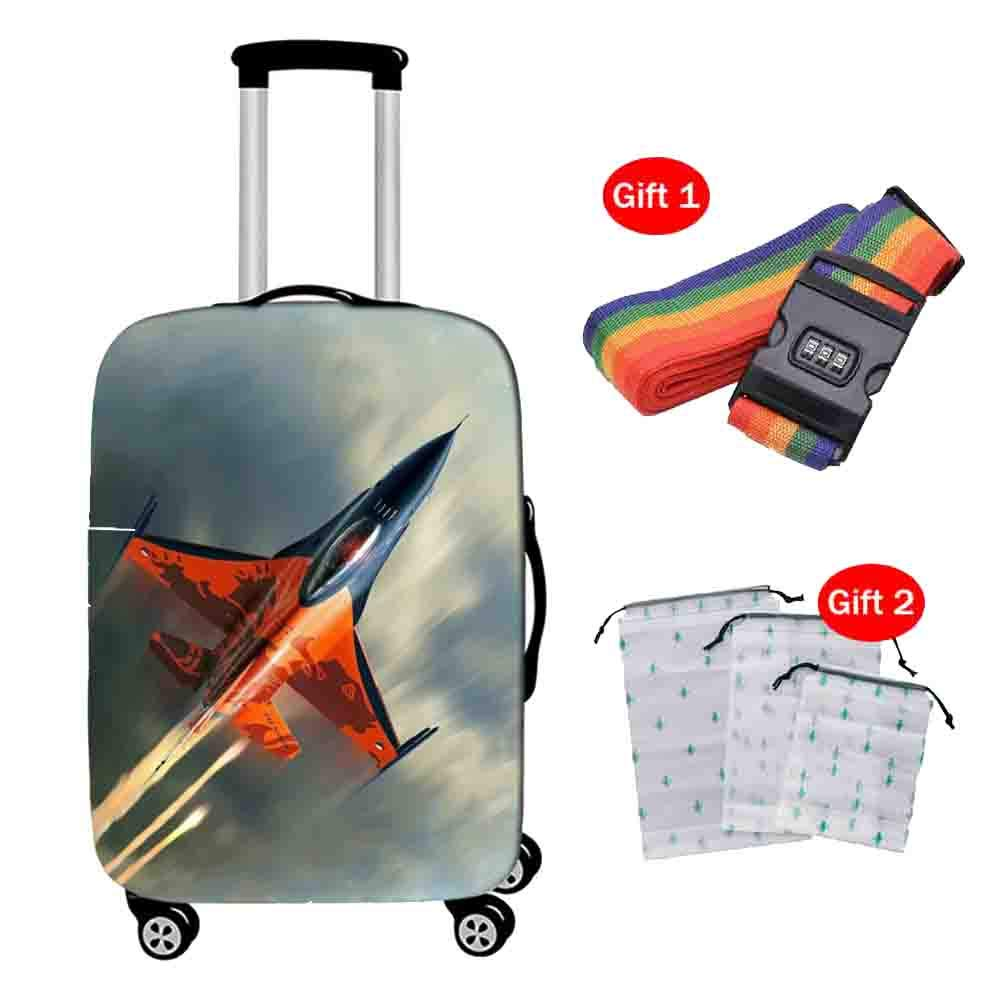 Suitcase Cover Housse de Valise Housse de Protection Anti-poussi/ère pour Bagage Haute /élasticit/é et /épaisseur 18-28 Pouces Housse de Protection Respirante pour Chariot