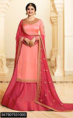 2827 Kameez Crape EMPORIUM di Pantaloni donna design ETHNIC Desai Bollywood indiano Abito Salwar in Festivel prachi Etnico Collezione Plazo Musulmano formale Dritta Plazo Completo Gonna wSzqqFxnd1