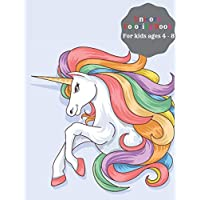 Unicorn Coloring Book For Kids Ages 4-8: Fun Kid Learning Scratch And Sketch An Art Creative Of All Children's Workbook…