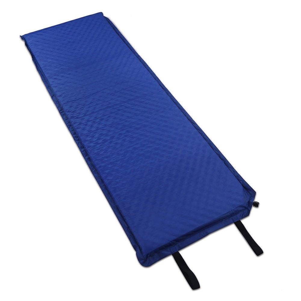 188  66  5 cm selbstaufblasende Camp Selbstaufblasende Matte Pad und Camping Isomatte mit Blau Farbe