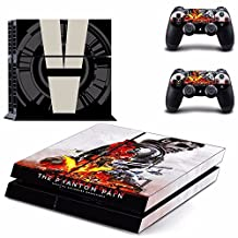 Metal Gear Solid V 5: The Phantom Pain Ps4 Cover Decal Skin Sticker Cover For Playstation 4 Console + Controller Decal [video game] …