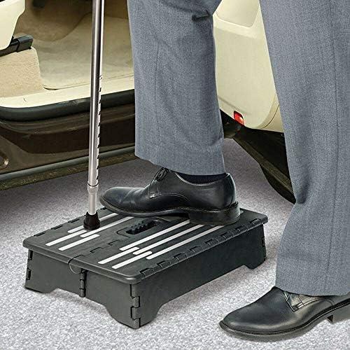 Engfgh Folding Flat Reclining Stool, Heavy-duty Portable Light Folding Chair, Household Non-slip Footstool