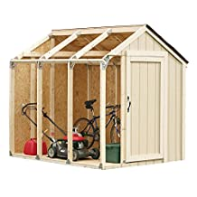 2x4 Basics 90192 Shed Kit, Peak Style Roof