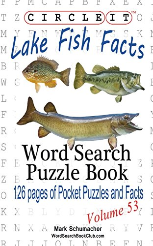 Circle It, Lake Fish Facts, Word Search, Puzzle -