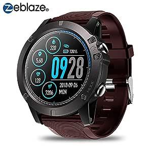 Zeblaze Vibe 3 Pro Smartwatch,Reloj Inteligente Hombre IP67 Reloj Deportivo a Prueba de Agua Monitor de Ritmo cardíaco Monitor de Ritmo cardíaco ...