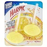 Harpic Rim Block Citrus Hygienic, 2 Blocks